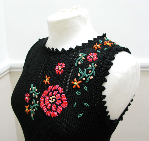 Knitting Flowers Design : Knitting patterns jeanettesloandesign