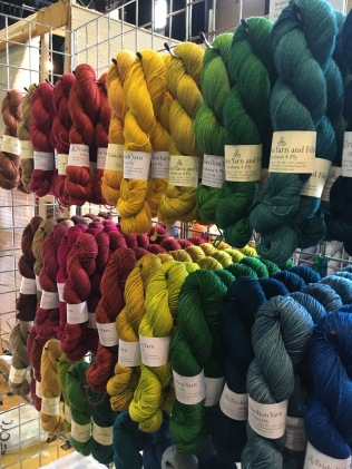 Rich tones at Triskelion Yarns