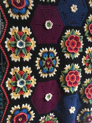 Stunning crochet by Jane Crowfoot