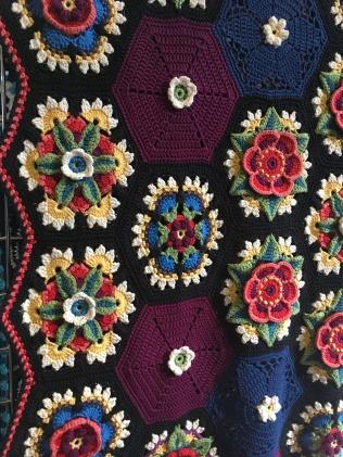 Stunning crochet by Jane Crowfoot