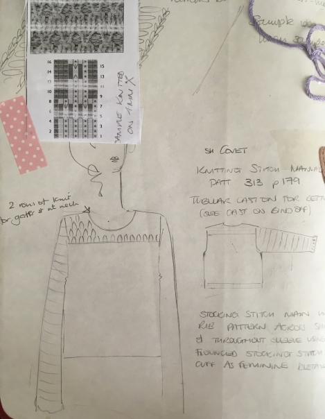 Camellia sketch J Sloan