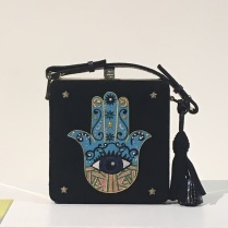 Hand & Lock embroidered handbags