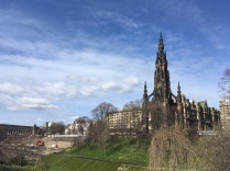 Last view on the last day, Scott Monument Edinburgh